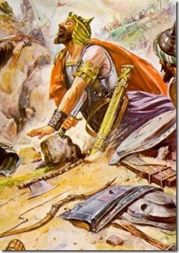 saul's death