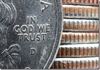 quarter in god we trust