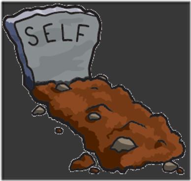 self grave
