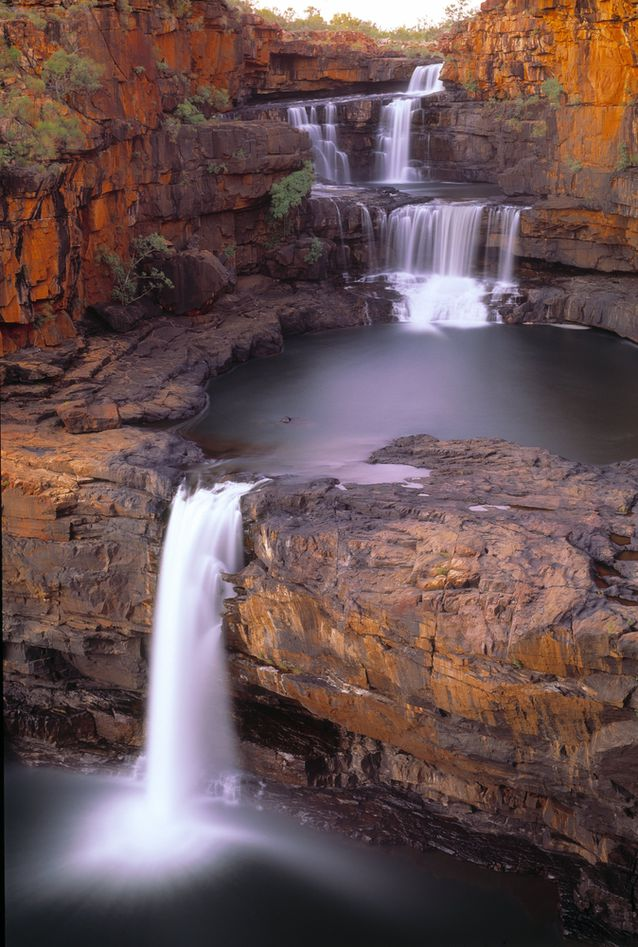 waterfall-three-stage